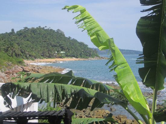 Roume, Guinea: View from Villa Elijah