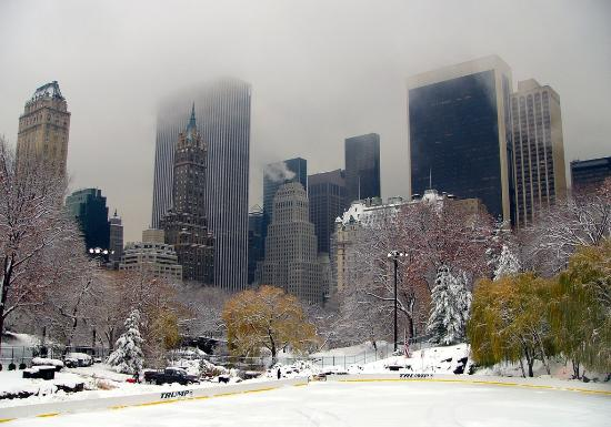 Central Park Sunset Tours: Central Park's Wollman Rink, used in the film Serendipity