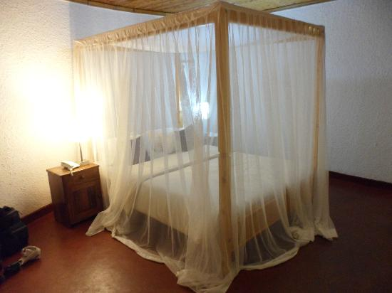 Ilboru Safari Lodge: Mosquito netting is a must in Arusha