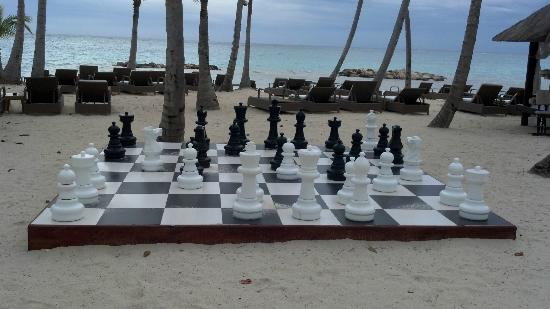 Sanctuary Cap Cana by AlSol: Chess anyone?