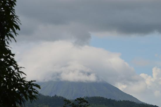 Chachagua Rainforest Eco Lodge: arenal view