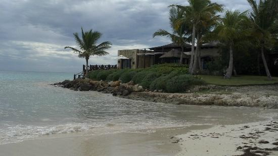 Sanctuary Cap Cana by AlSol: view from beach