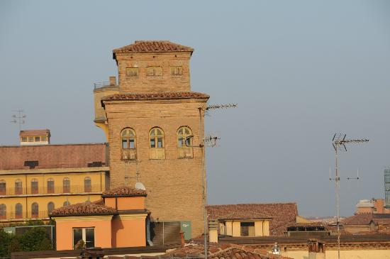 Best Western Hotel San Donato: View from roof top patio