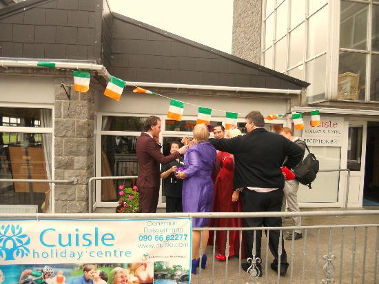 Cuisle Holiday Centre : the morning of the wedding