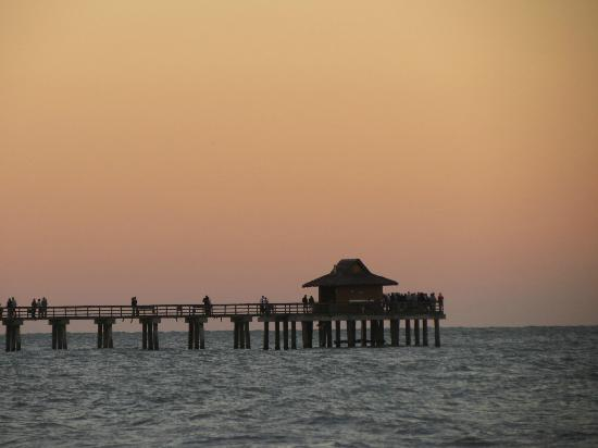 Naples Pier : Sunset is lovely