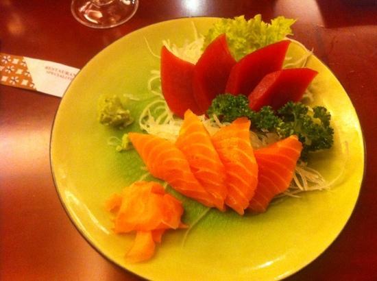 Yakigushi: quelques sashimis