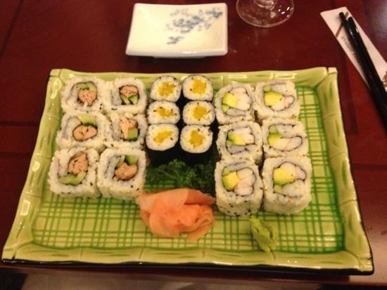 Yakigushi: sushi et maki