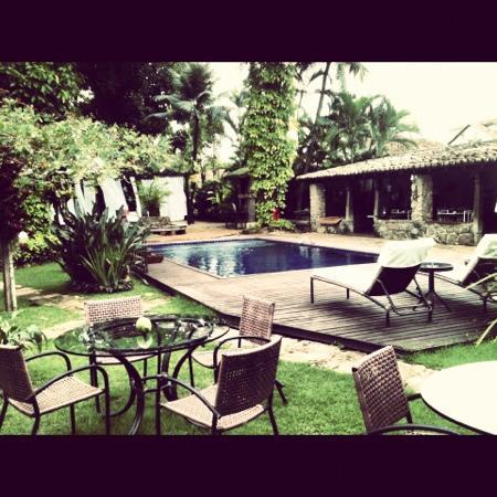 Pousada da Marquesa: área da piscina