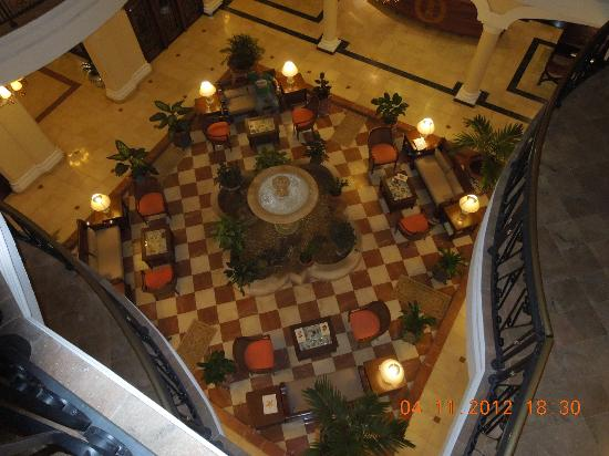 Iberostar Grand Trinidad: view over the main reception area