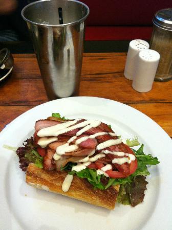 Red Door Cafe: BLT?