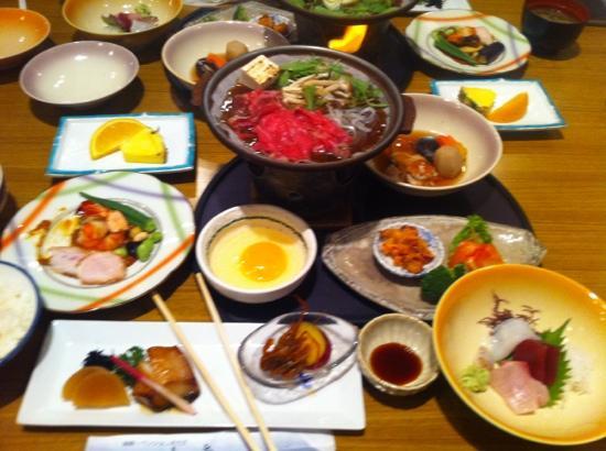 Hakonenomori Okada: 夕食
