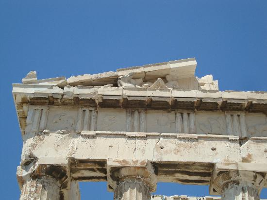 写真パルテノン神殿枚
