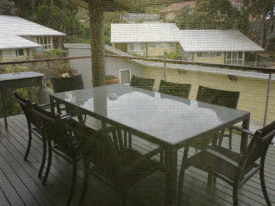 Tathra Beach House: Balcony with bbq facilities