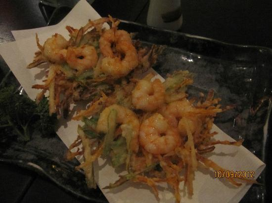 Ten Kai : Ebikakiage (legumes fatiados com camarão tempura)
