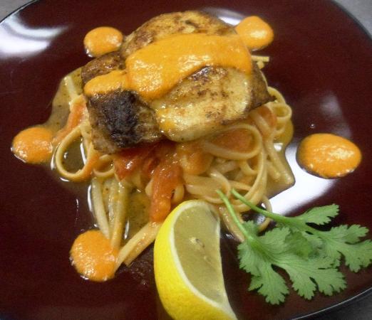 Javier's Cuisine : Mahi al Romesco