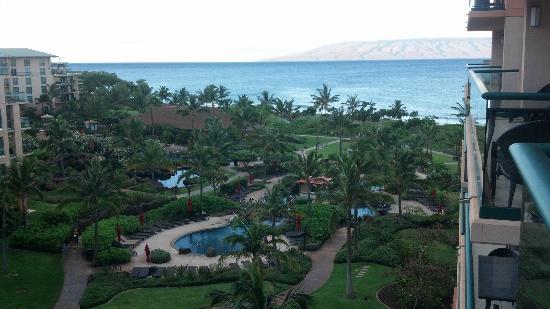 Honua Kai Resort & Spa: View from oir balcony