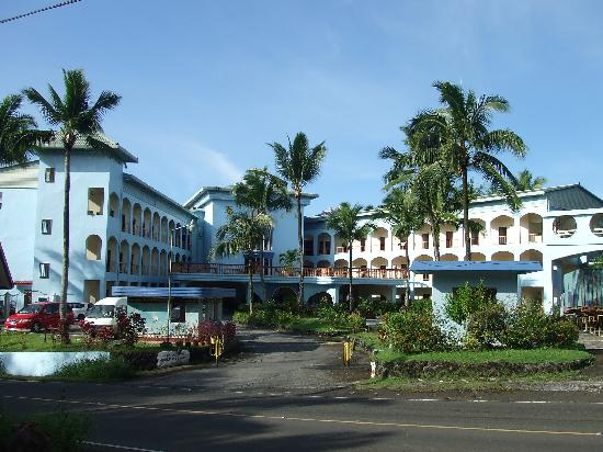Airai Water Paradise Hotel & Spa: 一看就有一股異國風味