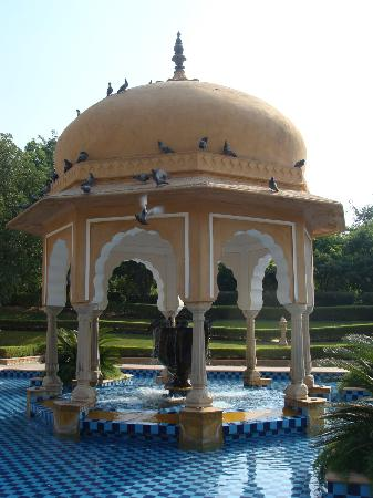 The Oberoi Rajvilas: Gazebo