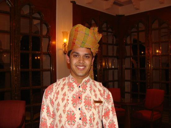 The Oberoi Rajvilas: Rajasthani headwear