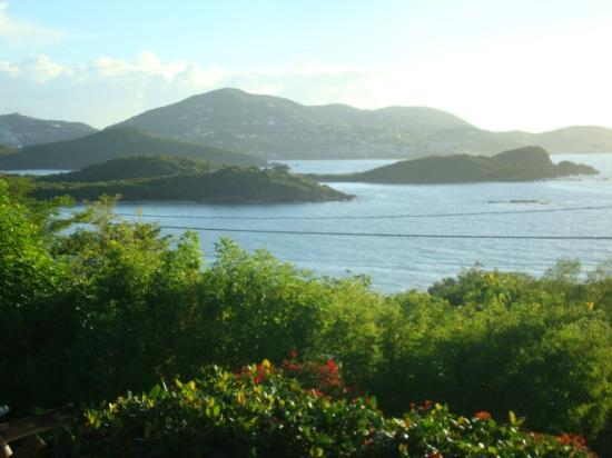 Virgin Islands Campground: VIEW FROM PAVILION