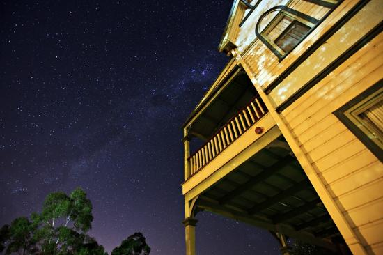 The Convent Hunter Valley: Peppers Convent under the Night Sky