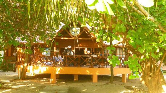 Selingan Turtle Island: Dining hall / gift shop / museum