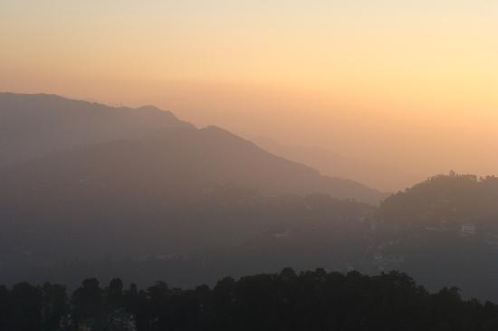 The Oberoi Cecil, Shimla: Sunset over the hills