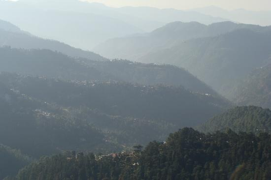 The Oberoi Cecil, Shimla: Sunrise across the hills