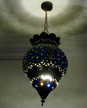 Riad le Clos des Arts: Light in riad