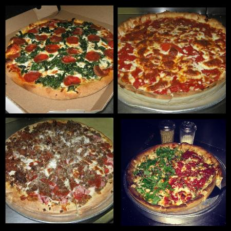 Star Pizza 2 : Collage of pizzas