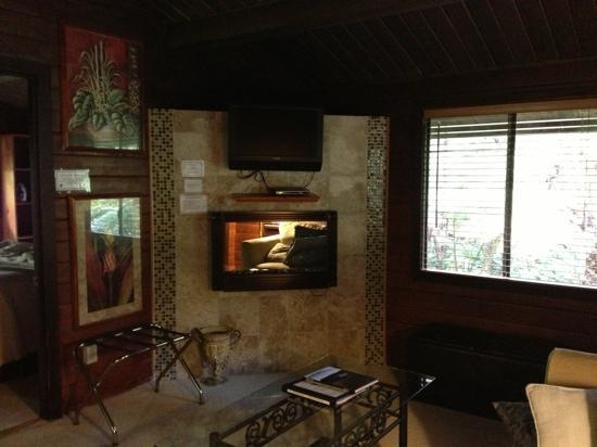 Chalet Kilauea: Hapu'u Bungalow living room
