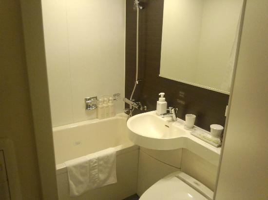 Nishitetsu Inn Nagoyanishiki : 清潔なバスルーム