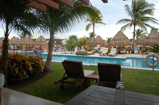 Excellence Playa Mujeres: view from our swim up #9061