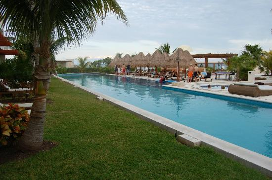 Excellence Playa Mujeres: view from swim up suite 9061