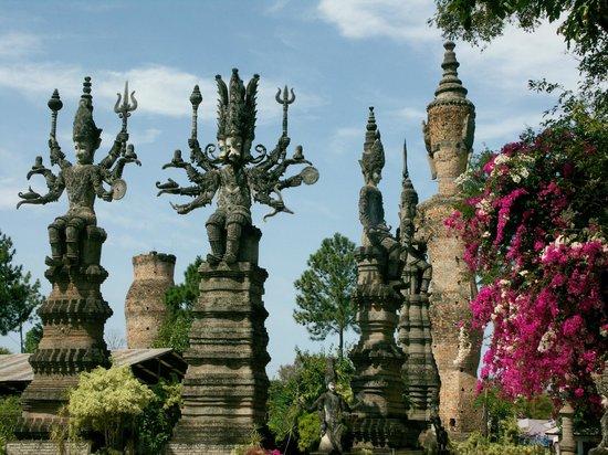 Sala Kaew Ku (Wat Khaek): Parkimpressionen