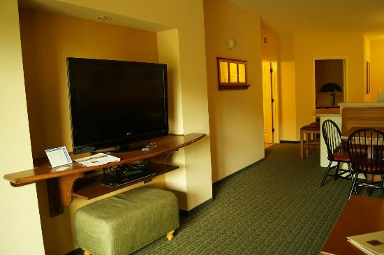 Marriott's Willow Ridge Lodge: Great flat screen