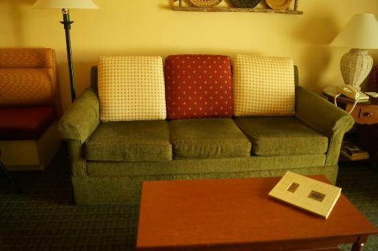 Marriott's Willow Ridge Lodge: Comfy couch