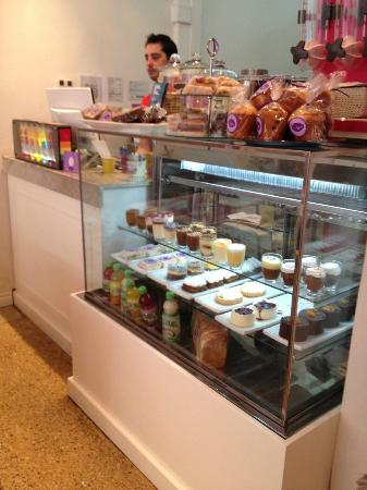 Oum's: yummy selection of pastries