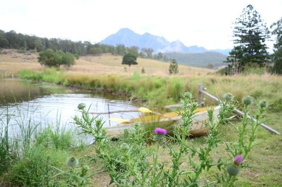 Lillydale Farmstay: Kayak