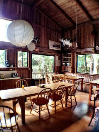 Holo Holo Inn: Large and comfortable kitchen/dining area.