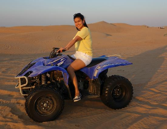 Al Badeyah Eyes Day Tours (ABET) Desert Safari: Quad Biking