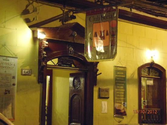 Club Social de Vicuna: INGRESO PRINCIPAL