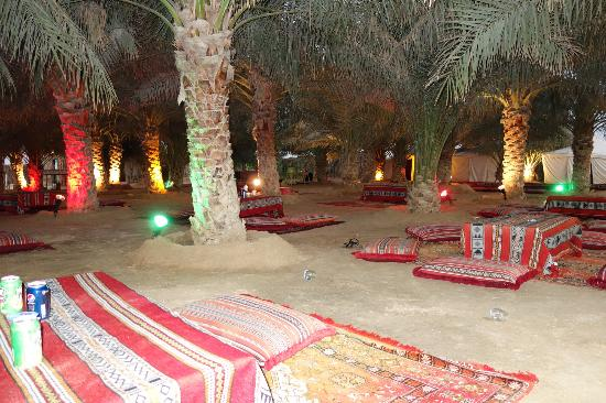 Al Badeyah Eyes Day Tours (ABET) Desert Safari: The Arabic Setup