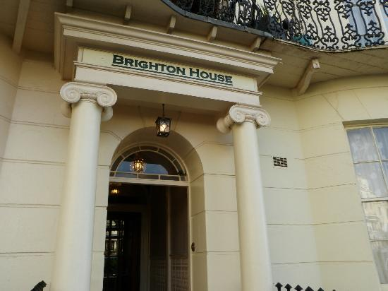 Brighton House: Outside the house