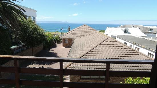 Misty Waves Boutique Hotel Hermanus: Aussicht Balkon