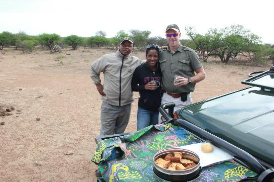 Etali Safari Lodge: great day for a game drive