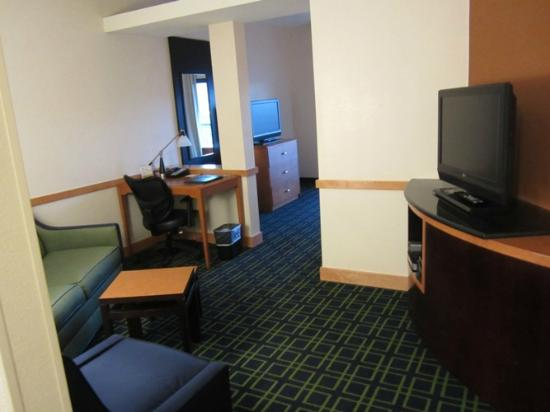 Fairfield Inn & Suites Tehachapi : Living room area