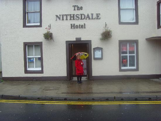The Nithsdale Hotel Entrance