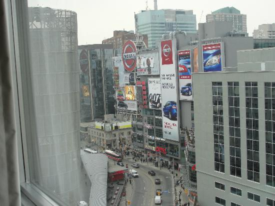 Bond Place Hotel ~ Room #1614, great view of Dundas Square just to the left