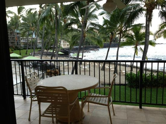 Aston Kona by the Sea: Our Lanai!